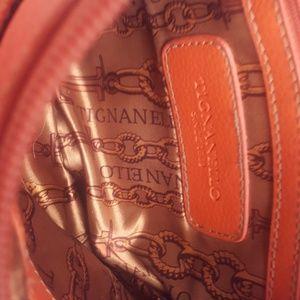 Tiganello crossbody purse 100% leather